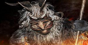 Krampusnacht mask