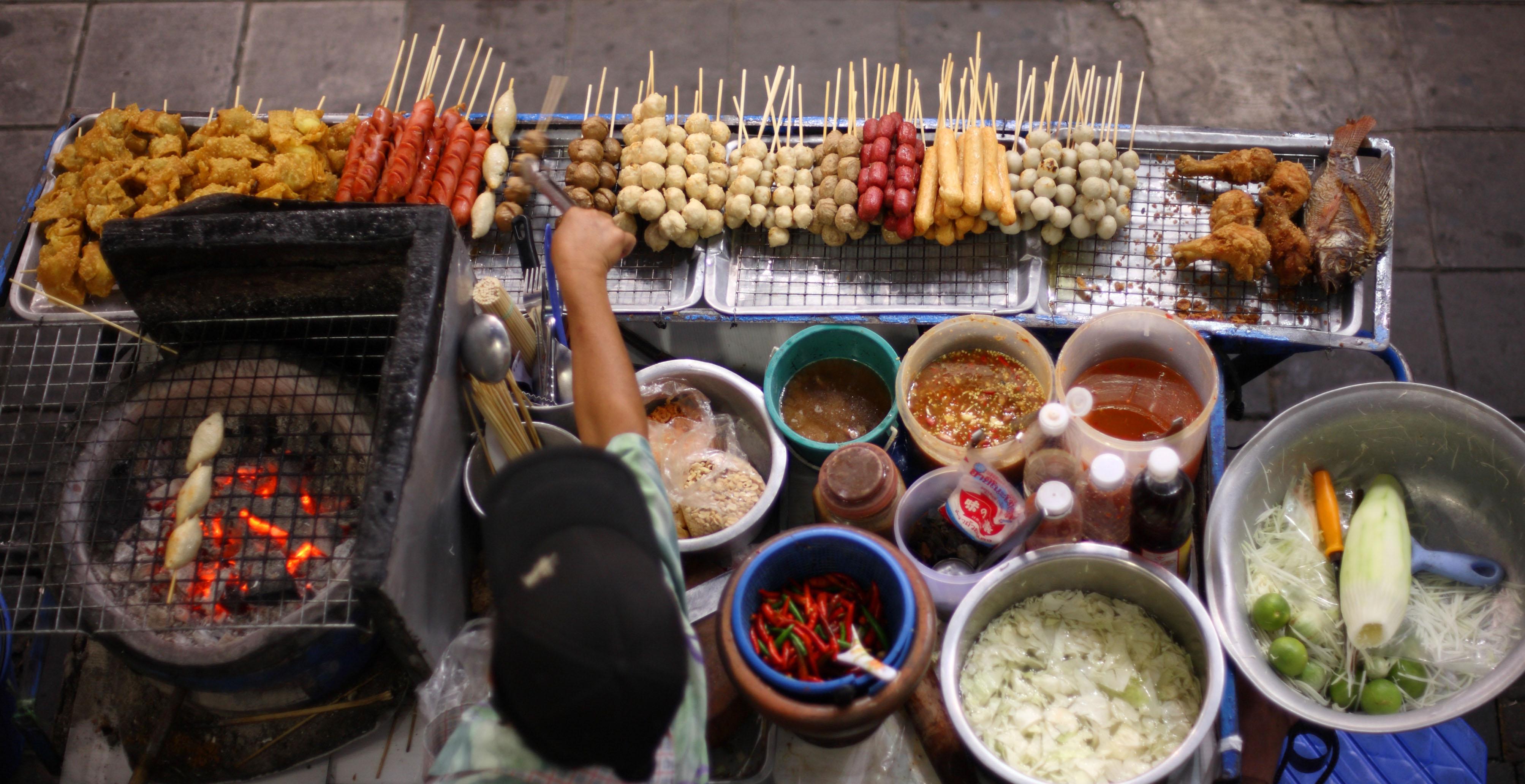 kebab vendor