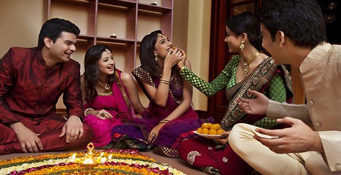 Celebrating Diwali