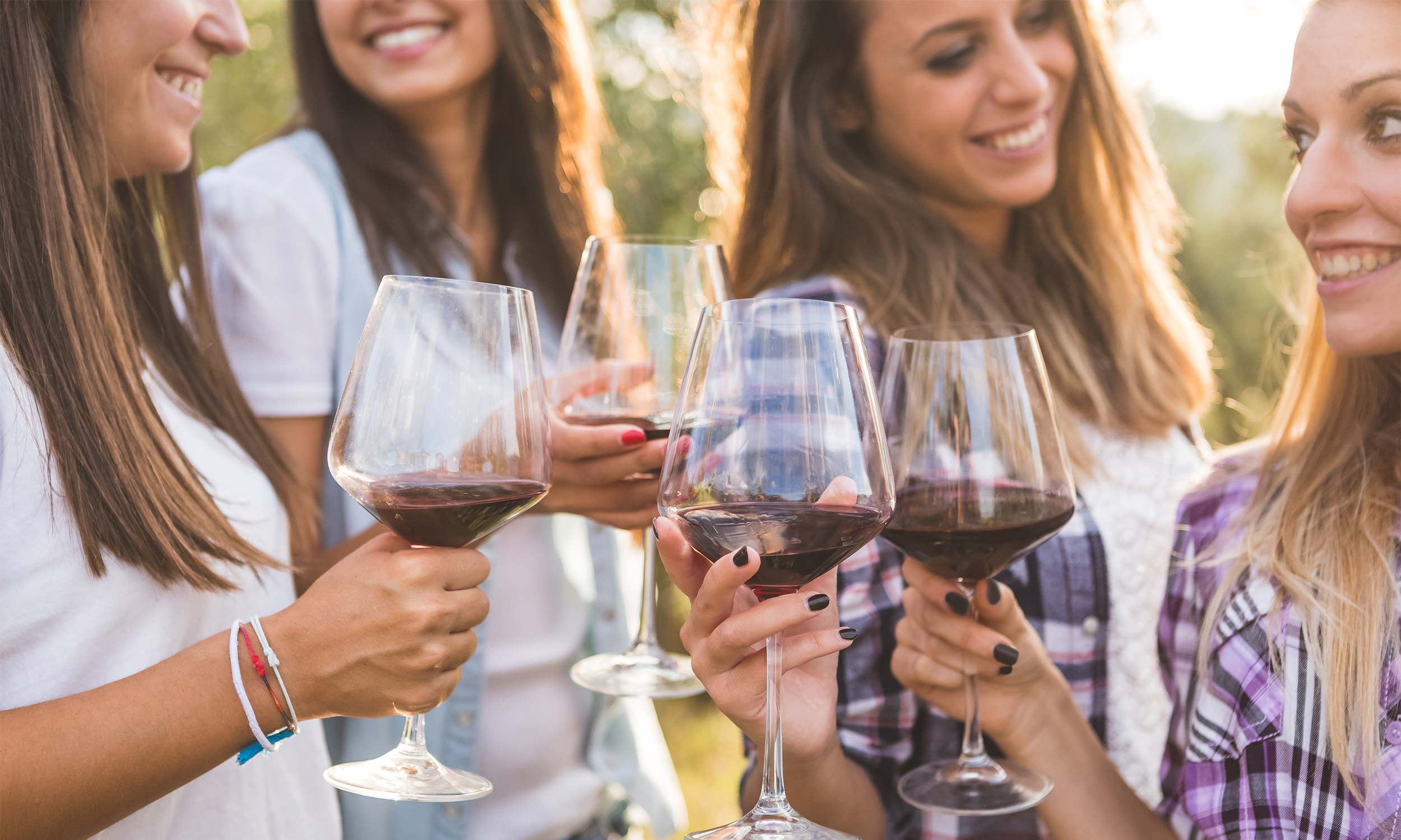 bachelorette party at vineyard