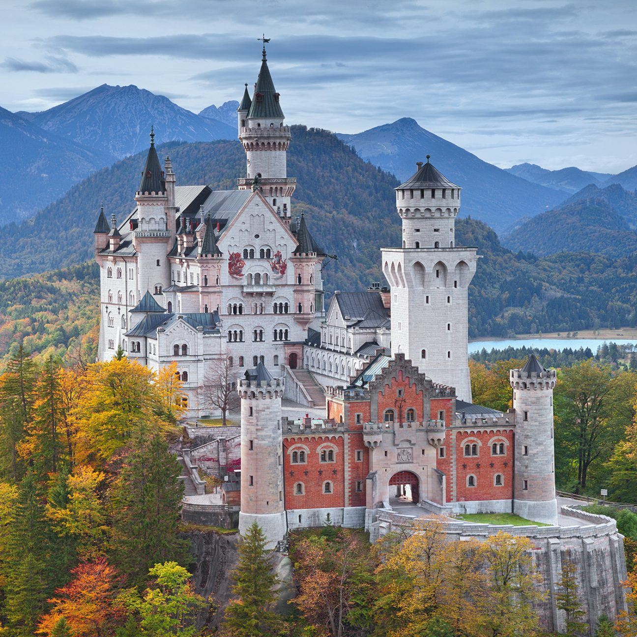 Castle in Bavaria, Germany