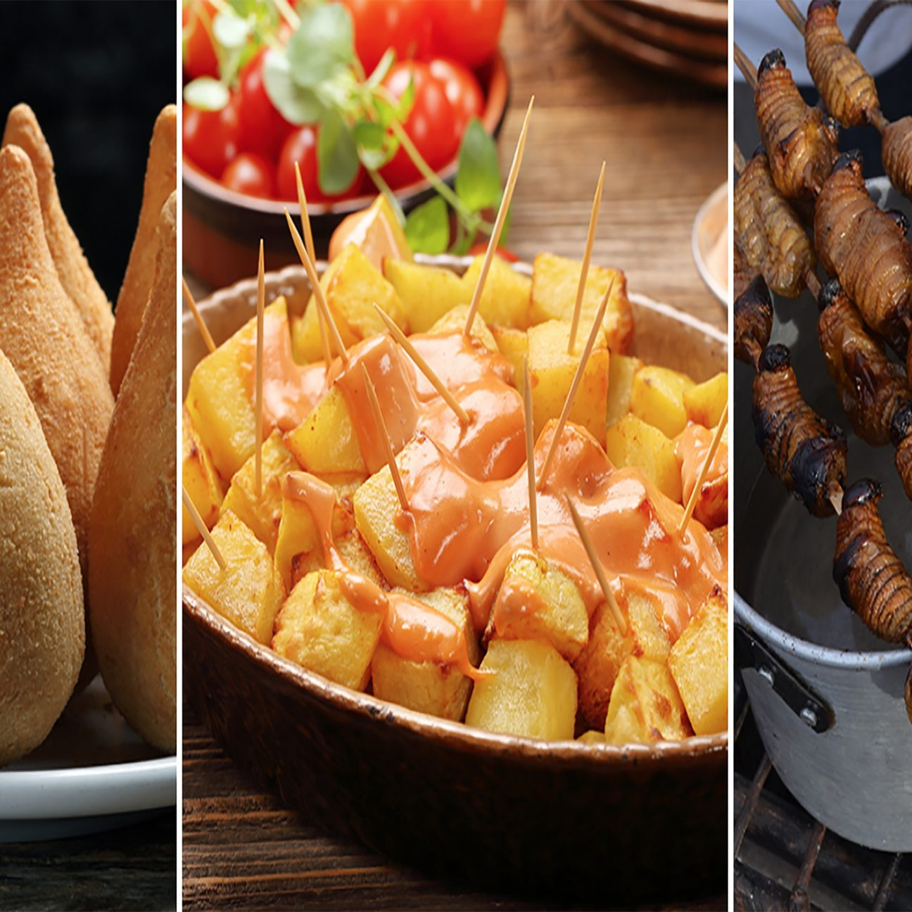finger food around the world