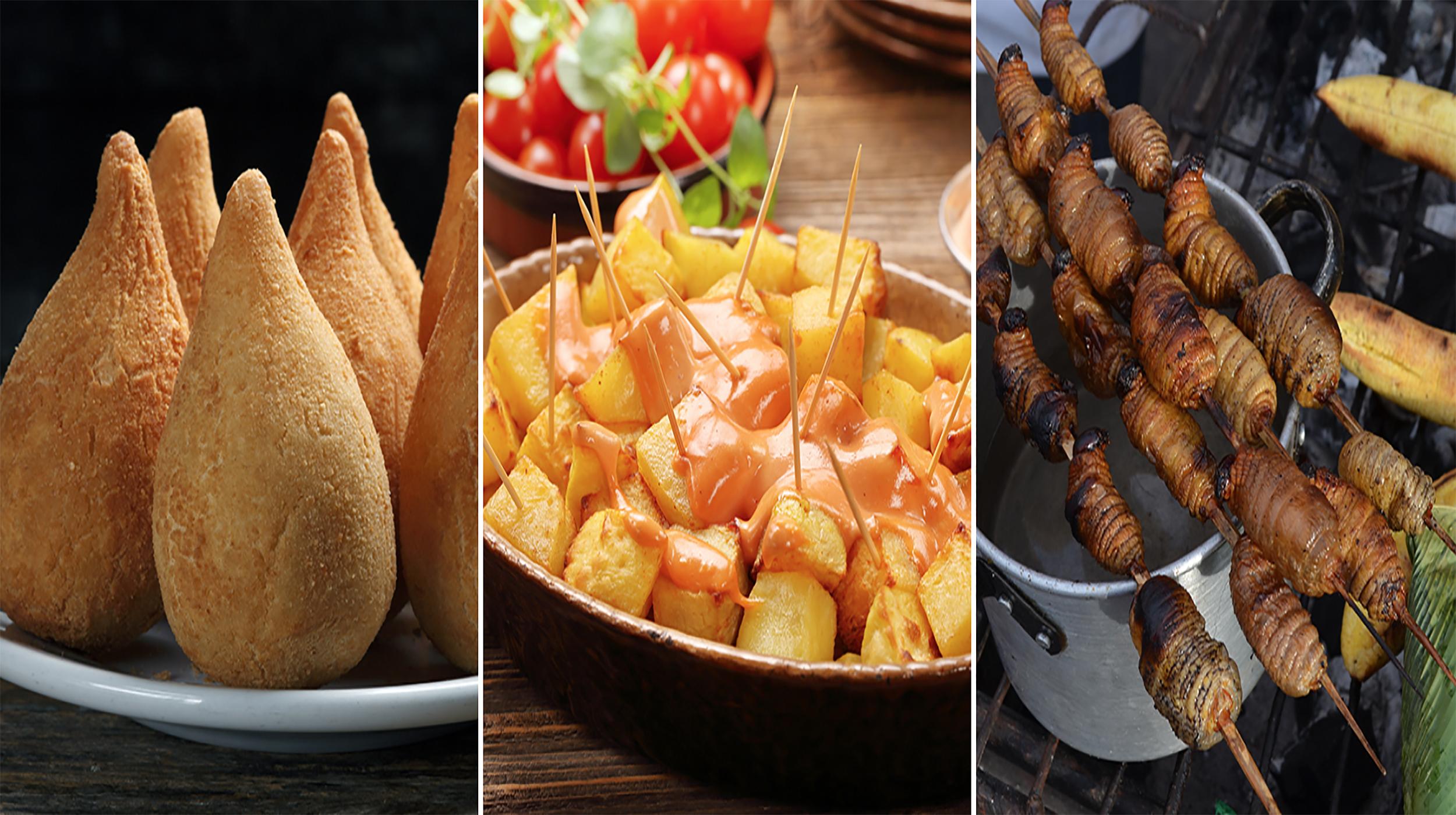finger food around the world
