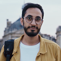 Influencer Mohamed Portrait