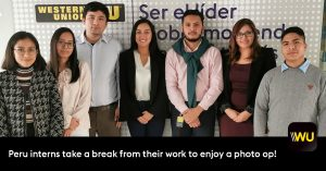 Western Union Peru Interns