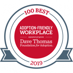 adoption-friendly workplaces award