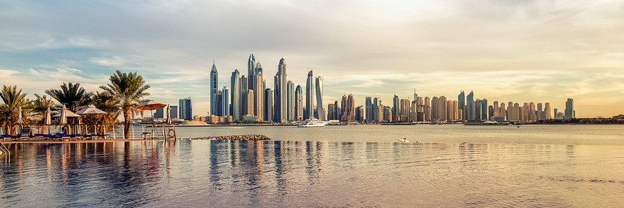 Dubai Marina is home to many expats