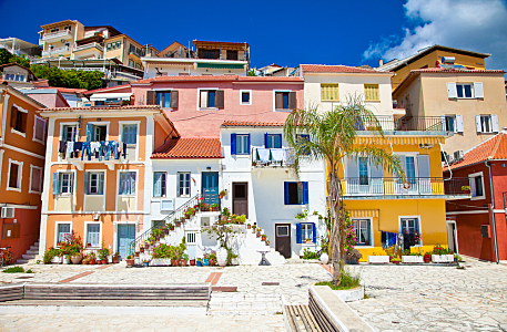 Overseas Property Investment. Vacation Homes in a Greek Village