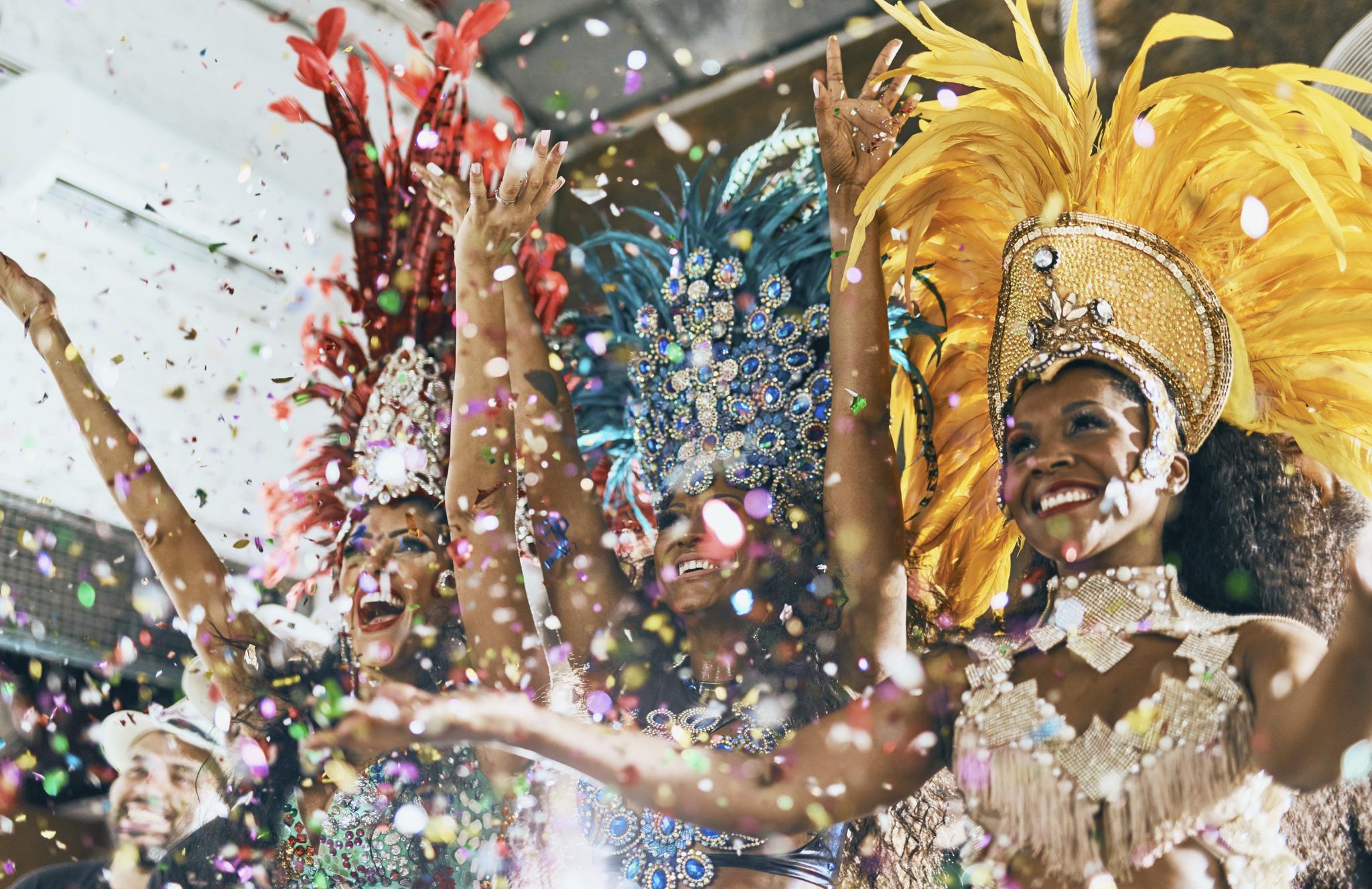 el Carnaval en Rio