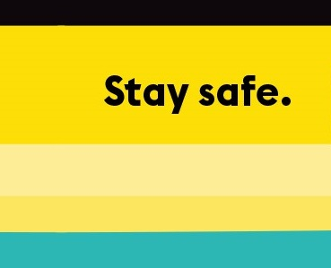 Stay safe icon